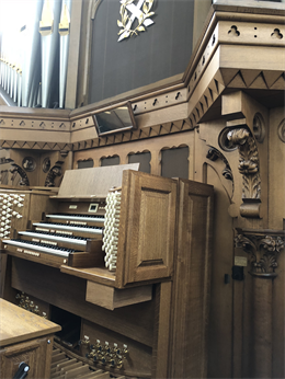 New 4-Manual Makin Organ In Dundee